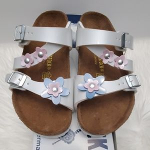 BIRKENSTOCK Girls Flower Sandals